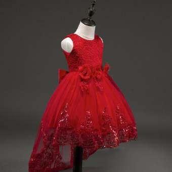 PAlight Littles สาวประกวดดอกไม้ชุดลูกไม้ชุดเจ้าหญิง-นานาชาติ-