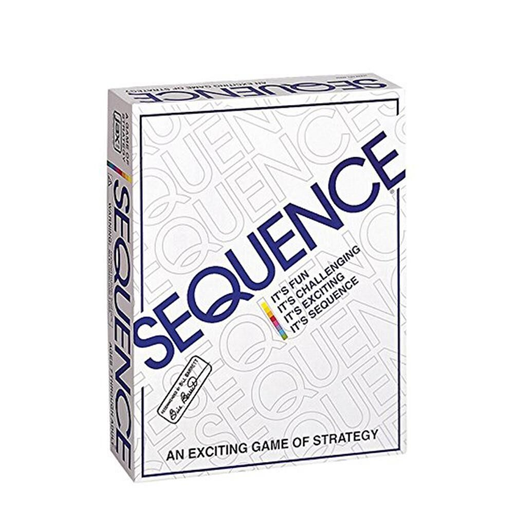 Discount Party Games Sequence Playing Cards Game An Exciting Game Of Strategy Friends Playing Together Intl Singapore