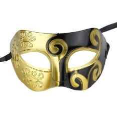 Party Masquerade King Mask Earls Mask Halloween Costumes PVC Masquerade Props