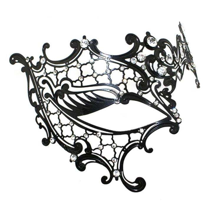 YE Phantom of the Opera Inspired Lady Venetian Halloween Masquerade Party Laser Cut Mask