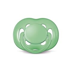 Philips Avent Soother Freeflow (6-18 Month) Single Pack (green) - Scf178/14 By Anakku Sdn. Bhd.
