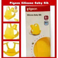 Pigeon - Silicone Baby Bibs By Mum Loves Baby Shop.
