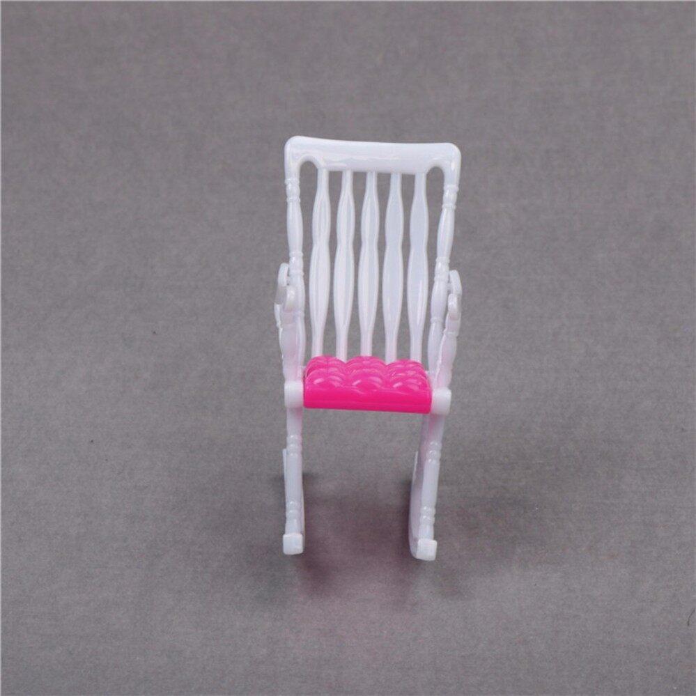 Pink Nursery Baby High Chair 1:6 Barbie Kelly Doll's House Dollhouse Furniture - intl