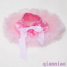 Pink With White Newborn Infant Girls Tutu Skirt Two Layers Chiffon Mini Cake Skirt Baby Photography Pettiskirt Cute Skirt By Kids Fashion.