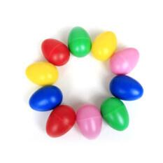 Nhựa Bộ Gõ Nhạc Egg Maracas Lắc Trẻ Em Đồ Chơi Trẻ Em Quà Tặng Thú Vị-Màu Hồng-intl
