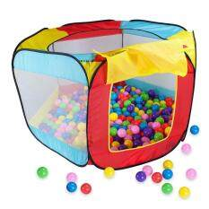 Play House Indoor And Outdoor Easy Folding Ball Pit Hideaway Tent Play Hut By Crystalawaking.