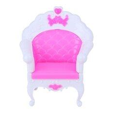Princess Sofa Armchair Girl Toy Sweet Dreamlike Furniture for Barbie Doll
