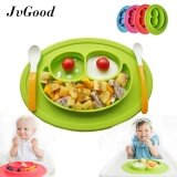 Baby Plate Toddler Plate Fits Most High Chair Trays Baby Suction Silicone Placemat Kids Plate Bowl One Piece Placemat Kids Dinnerware