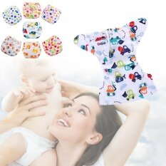 Random Baby Diapers Waterproof Diaper Cover Cartoon Baby Reusable Nappy By Miryo.