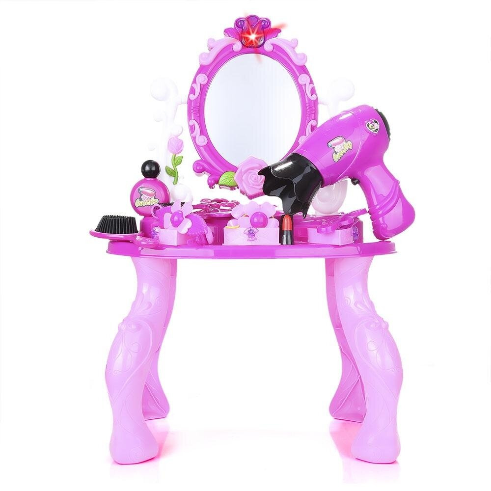 Luxury Simulation Makeup Dressing Tools Kit For Kids (pink) By Fan Cheng.