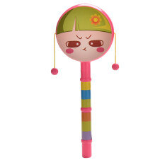 Rattle Drum Smile Baby Kid Percussion Educational Musical Instrument Toy – intl