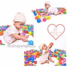 Ready Stock!!! 100pcs 5.6cm Premium Quality Ce Colorful Balls, Baby Kids Toy Soft Plastic Pvc Ocean Ball Pit Pool By Sayangku.