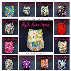 Ready Stock Swim Diaper Training Pants Baby Swim Neck Float By Ibu Store My.