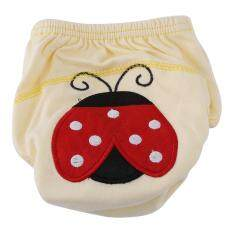 Reusable Cartoon Cotton Baby Diapers Underwear Pants (90 - Ladybug) By Sweetbaby123.