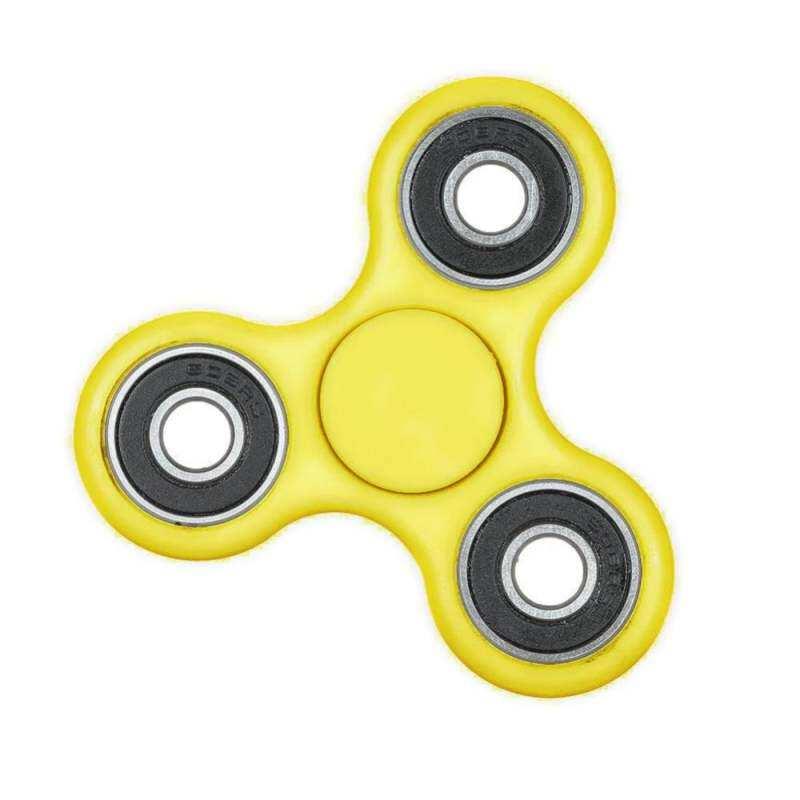 Kmdshxns RHS Fidget Spinner Meja Anti Stres Sensorik Spin Kuning Mainan Gasing Beyblade Jari