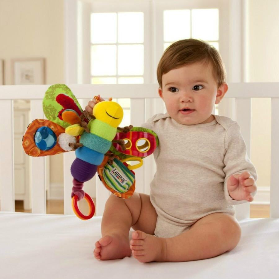 Rhs Online Lamaze Play Grow Freddie The Firefly Butterfly Early Learning Baby Kids Toy - Intl By Rhs Online.