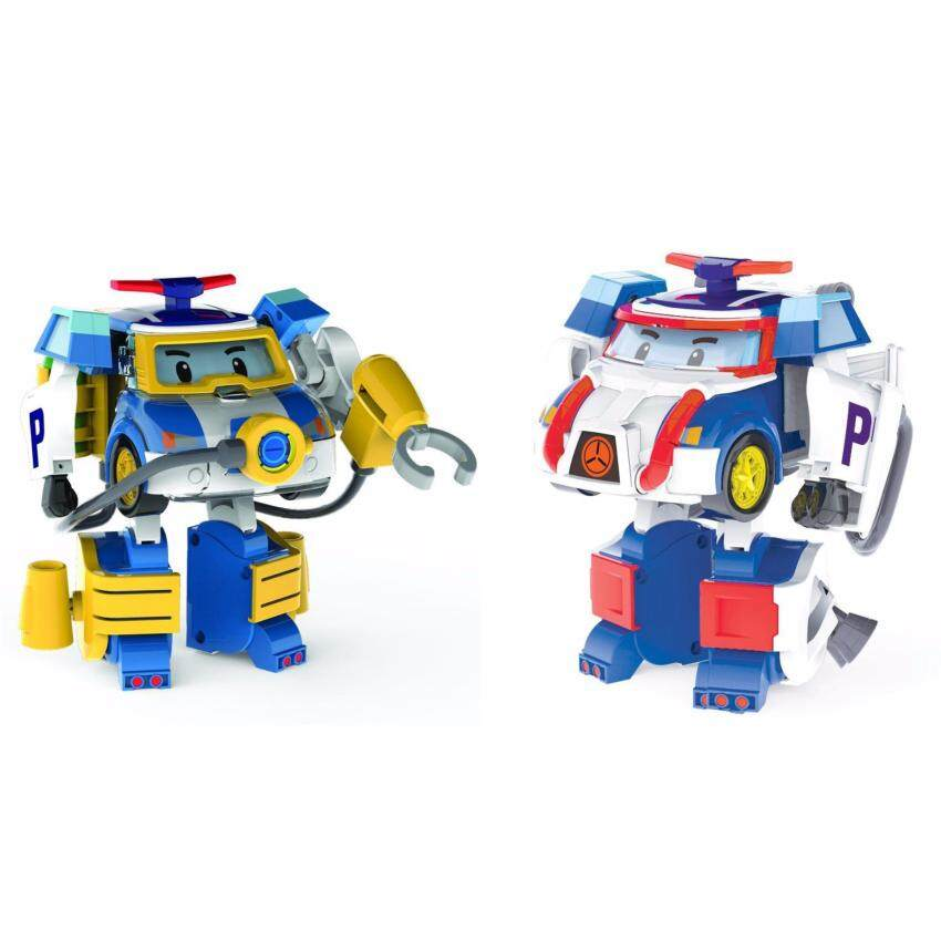 Robocar Poli Transformation Poli Action Pack Space & Diving (2 in 1)