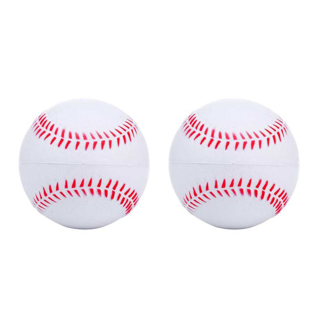 Robxug 2pcs Foam Baseball Balls Reduced Safety For Players Teenager Softball Impact Children By Ph Mccullar.