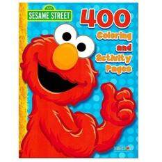 Sesame Street Elmo Coloring Book Jumbo 448 Pages With Stickers Featuring Cookie