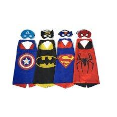 The Avengers 4 Sets/lot Superhero capes Dress Up Costumes Cape u0026 Mask Kids Halloween  sc 1 st  Lazada & Character Costumes for the Best Prices in Malaysia