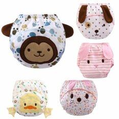 Set Of 5 Animal Series Training Pants Kids Potty Cloth Diaper Soft Kids Nappies By Express D.