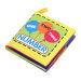 Kain Lembut Bayi Early Educational Buku Kartun Mainan (Nomor)-Internasional