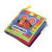 Kain Lembut Anak-anak Kartun Pendidikan Awal Mainan Buku (Sayuran)-Internasional