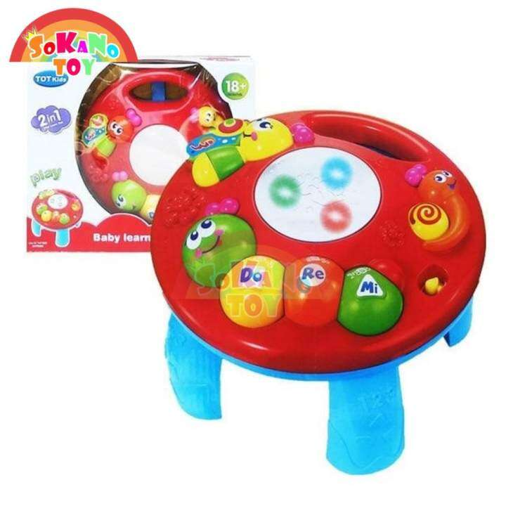 (RAYA 2019) SOKANO TOY TOT Kids 2 in 1 Musical Baby ...