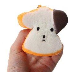Licin Jumbo Emoji Wajah Roti 8.5X4.5 Cm Lambat Rising Cute Kawaii Kaus Hangat