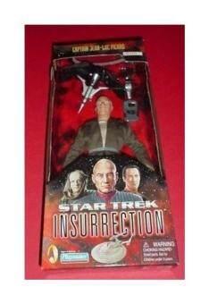 Bintang Trek: Pemberontakan! Kapten Jean-luc Picard, Edisi Klasik, 23 Cm Poseable Aksi Tokoh Dalam Kain Kostum Di Ba