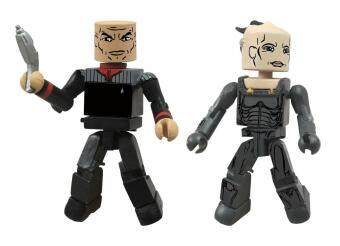 Star Trek Legacy Minimates Series 1 Picard and Borg Queen - intl