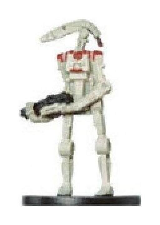 Star Wars Miniatures: Security Battle Droid # 46