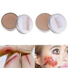 Sunyoo- Halloween Stage Fancy Dress Fake Scar Wound Skin Wax Body Face Painting Makeup -