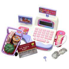 Supermarket Toy Display And Scanning Function Cash Register Toy(random Color) By Super Babyyy.