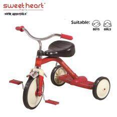 Sweet Heart Paris TC5308 Three Wheel Kids Ride On Tricycle Bike (Red)