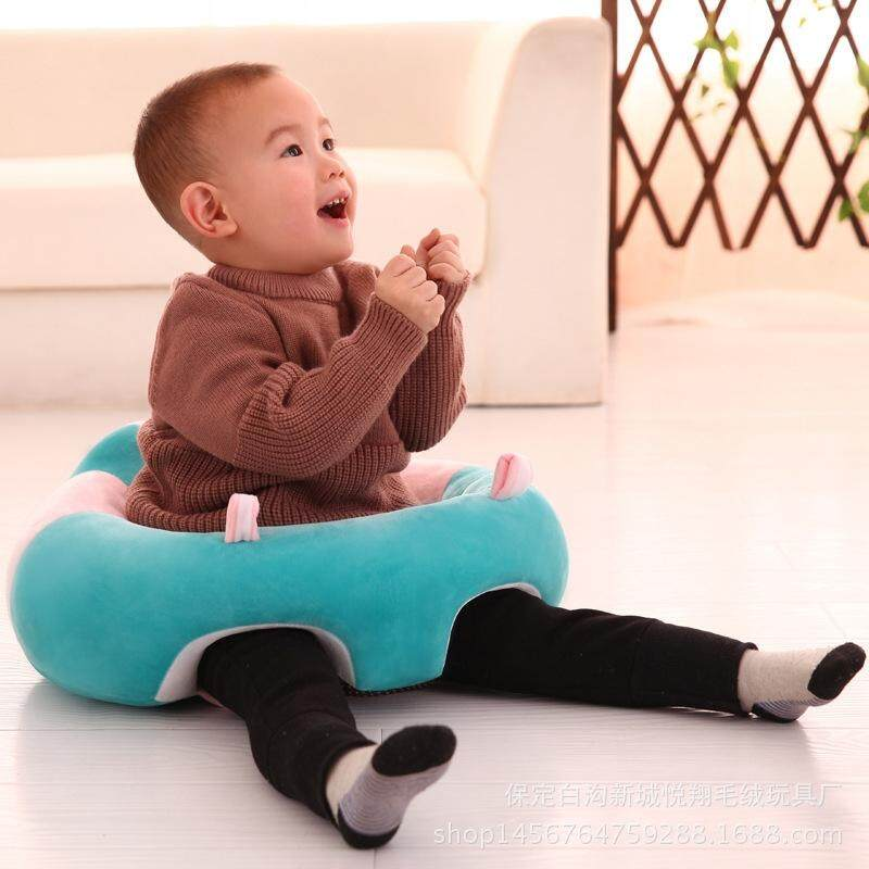 The Baby Learn Sit Chair Portable Dining Chair Plush Sofa - intl