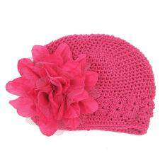 Toddlers Infant Baby Girl  Fashion Flower Hollow Out Hat Headwear Knitted Hat By Hatchshop.