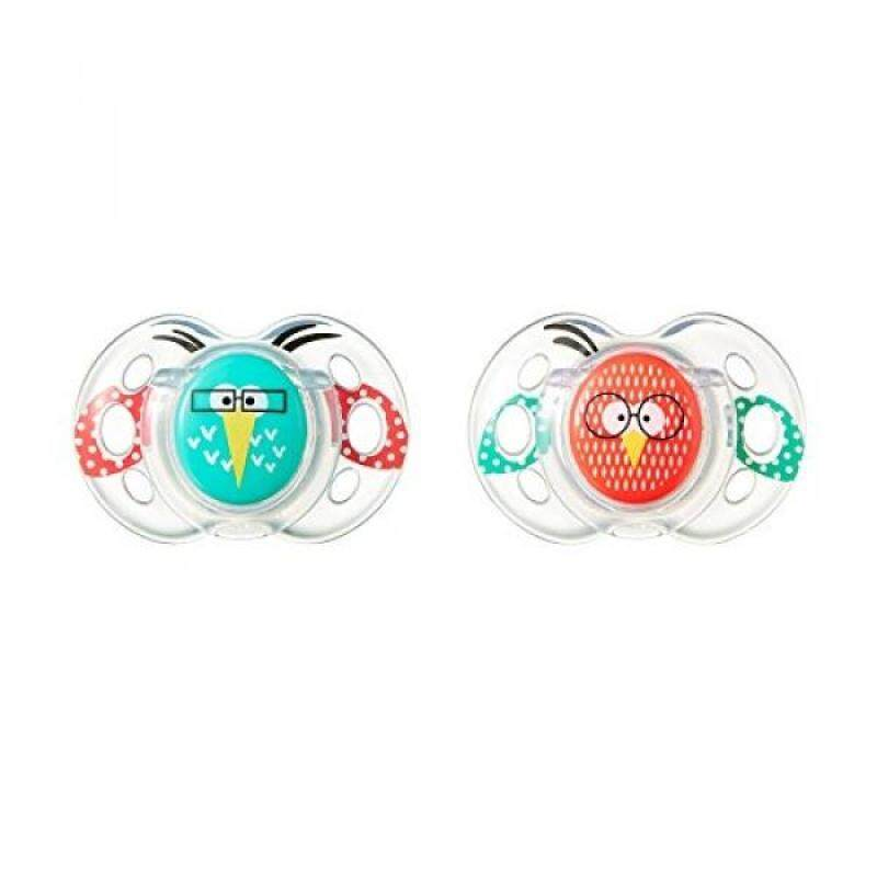 Tommee Tippee Closer to Nature Fun Pacifier, 6-onths, 2 Count Singapore