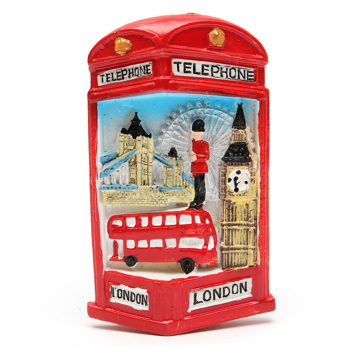 Hình ảnh TOURIST SOUVENIR 3D Resin Travel London Fridge Magnet New - intl