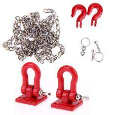 Tow Hook Trailer Chain Kit for Traxxas Hsp Redcat Rc4wd Tamiya Axial scx1