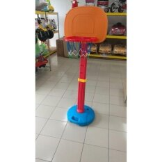 Toys Street Indoor Outdoor Plastic Adjustable Children Basketball Set By Toys Street.