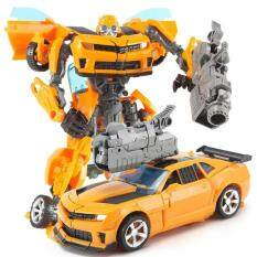 Toys Transformation 5 Prototype Series Optimus Bumblebee Robots Deform  Aircraft Car Action Figures Toy Gift
