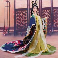 Tradisional Gaya Klasik Cina Boneka Barbie Kostum Kuno Tionghoa Pakaian Mitologi Gadis Favorit-Hanya Pakaian