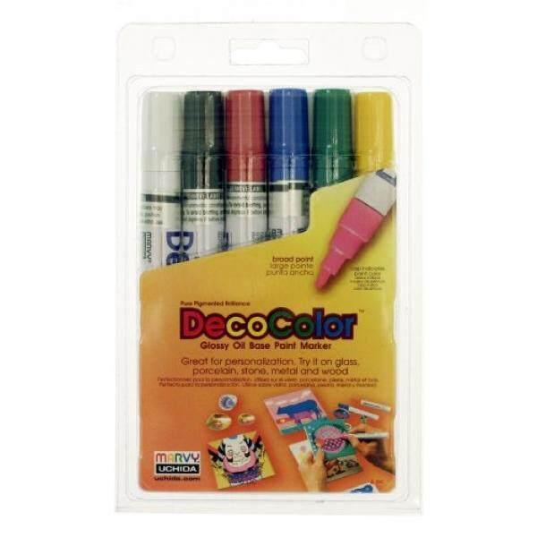 Crafts 350-c-gld Decocolor Premium Chisel Paint Marker-gold