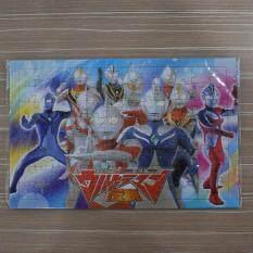 Ultraman 96 Pieces Jigsaw Puzzle 5pcs/set By Ac Shopper.