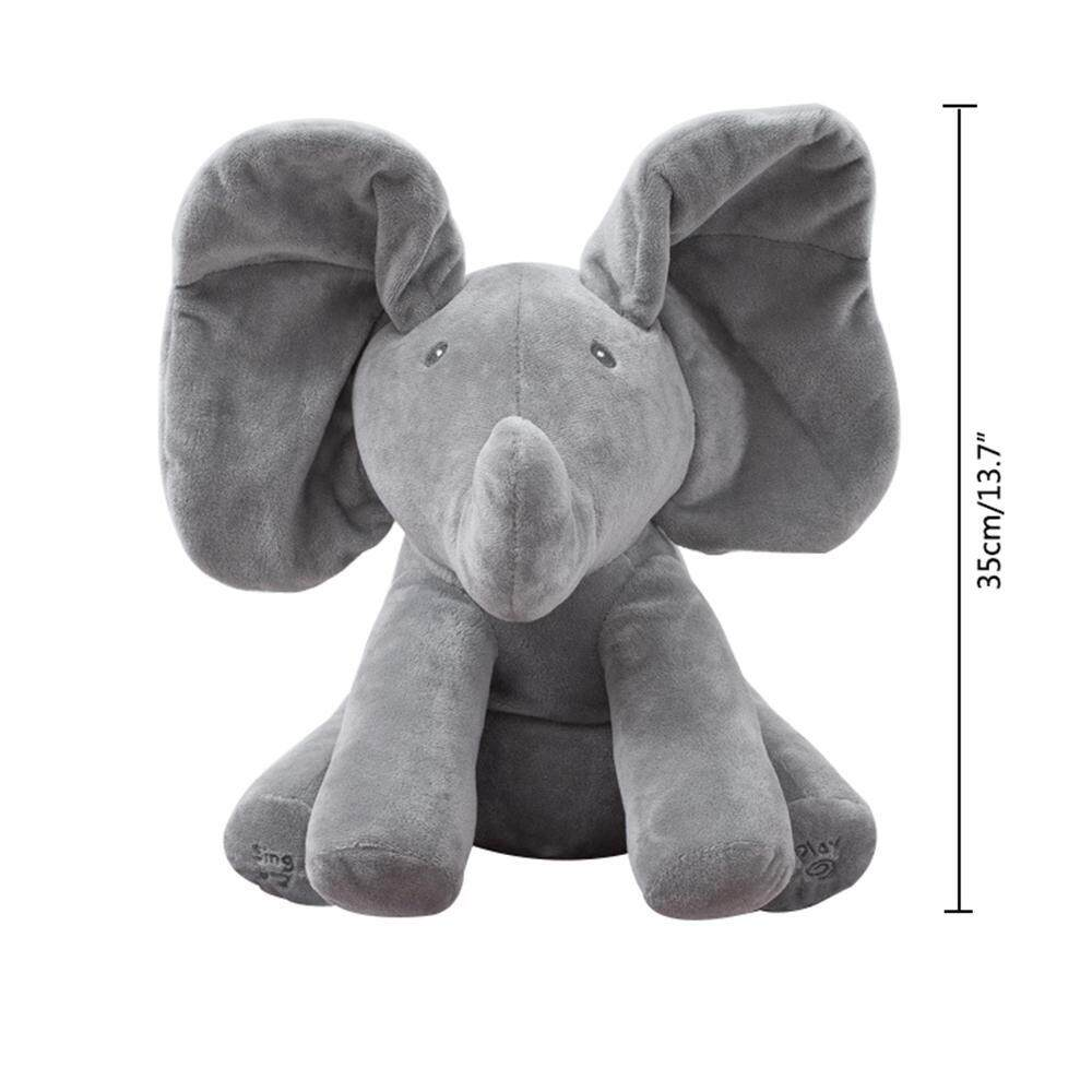 Price Comparisons Of Umiwe Baby Elephant Plush Toy Singing Songs And Animated Elephant Ears Flap Hide And Seek Game Plush Stuffed Baby Doll Toy Intl