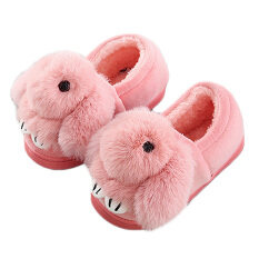 Unisex Cute Soft Fluffy Kids Toddle Winter Warm Slippers Shoes Anti-Slip Indoor Outdoor Shoes Gifts For Christmas Birthday Watermelon Red 28-29 Eu For 5-6 Years Old By Jelly Store.