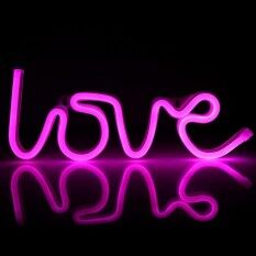 Epayst Usb/battery Powered Led Neon Sign Light Wall Background Wedding/christmas Decor Lamp (pink) By Epayst.