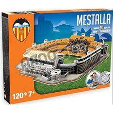 Valencia FC Mestella Stadium 3D jigsaw puzzle (kog)