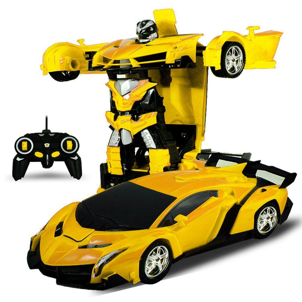 Review Veecome One Key Deformation Robot Toy Transformation Electric Car Model With Remote Controller Style 1 18 Children Educational Toy Intl On China